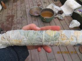 (2)-2- fresh roll sprayed with vinegar (copper pot in background)