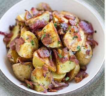 potato-salad-with-roasted-red-onions-and-bacon
