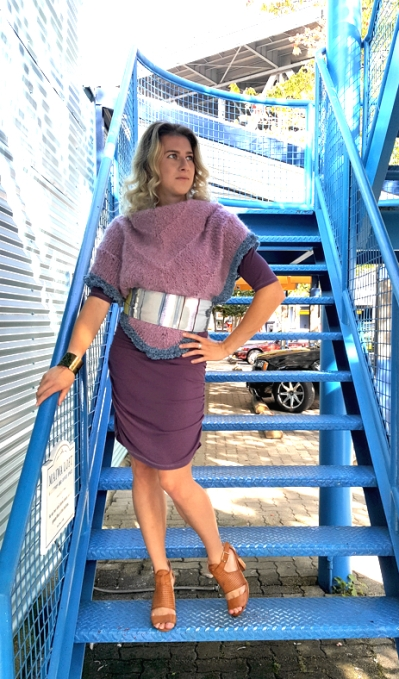 Vanja Dress, Jane Mohair Scarf, Bow belt (now $10 on sale)