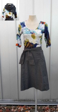 artists way_inset scarf with virgo skirt