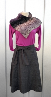 Fable top with Virgo Skirt