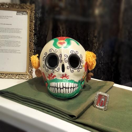 skull front square