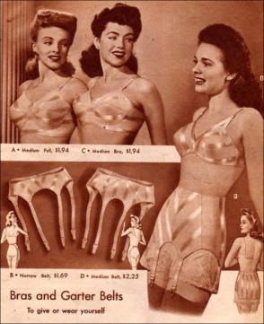 1940s garter