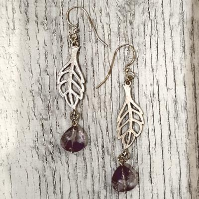 Spriggan Leaf earrings