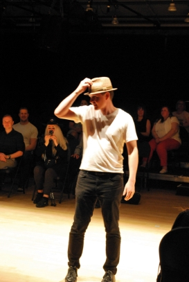 Brent wearing Granville Island Hat Shop.