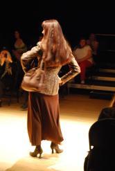 Monika in her own designs, Sadryna Designs